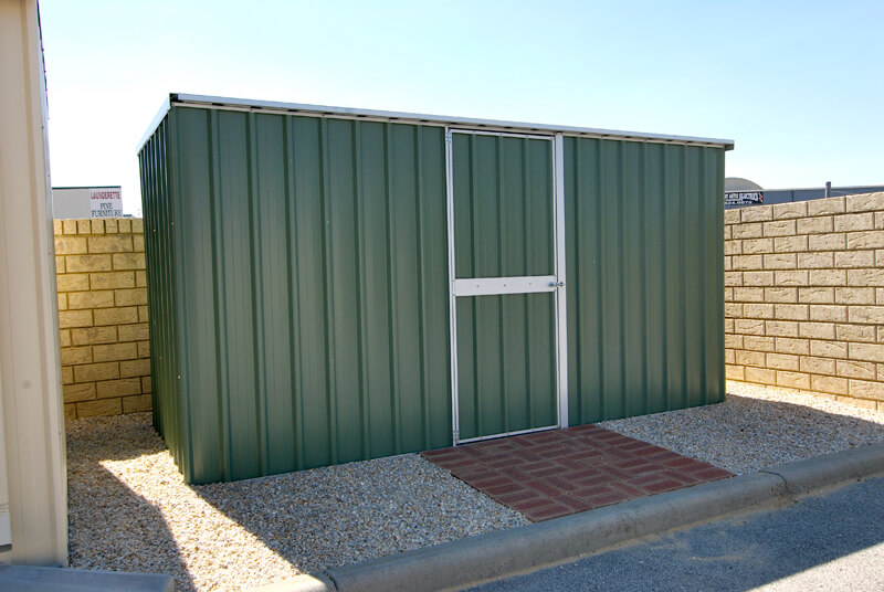 Perth 39 s leading flat roof garden shed manufacturer and for Garden shed perth