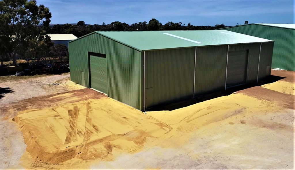 Commercial Shed on a Farmstead